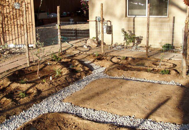 Pumice Wick Garden Path