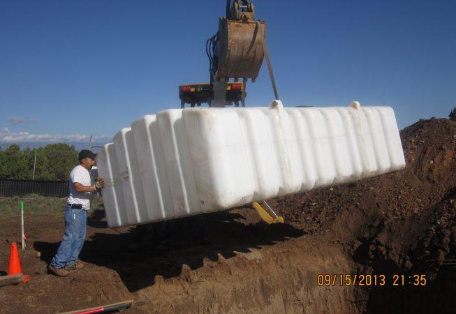 Setting Water Tank